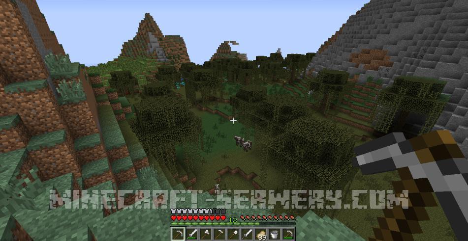 minecraft przetrwać na bagnach