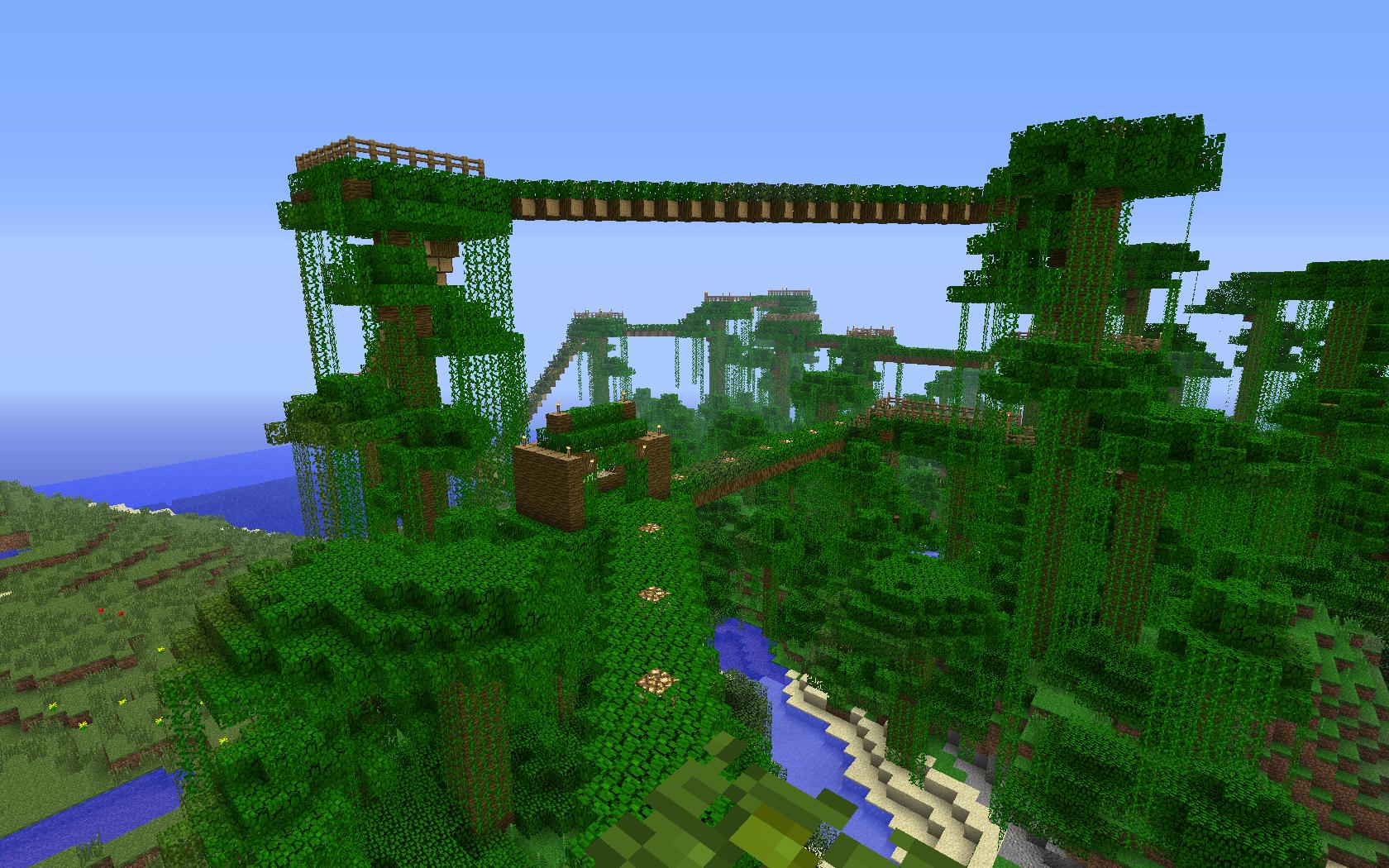 Budowa mostów z liści