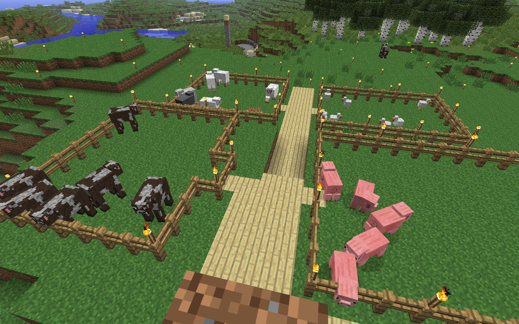 Minecraft - hodowla