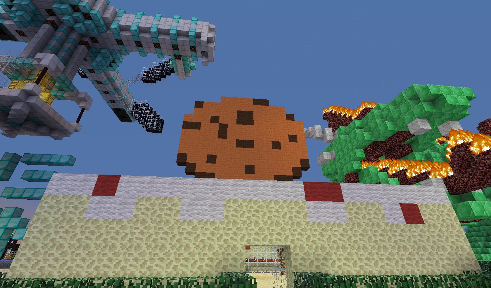 Minecraft - wielkie