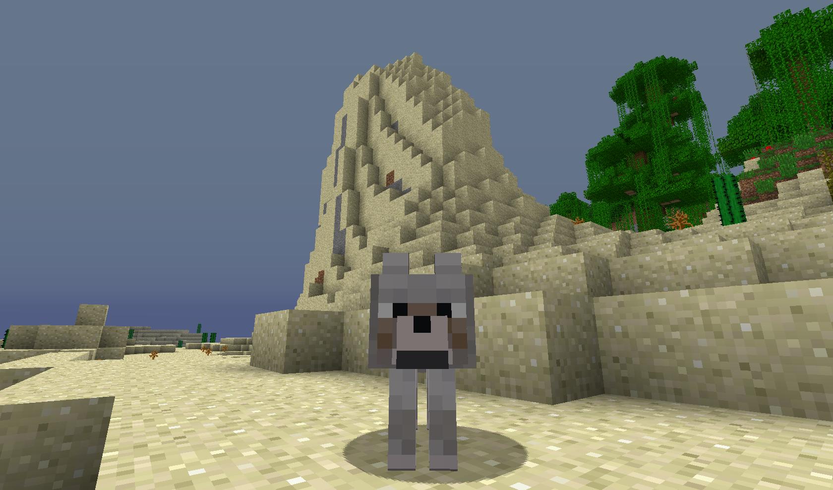 Minecraft - Wilk ( pies )