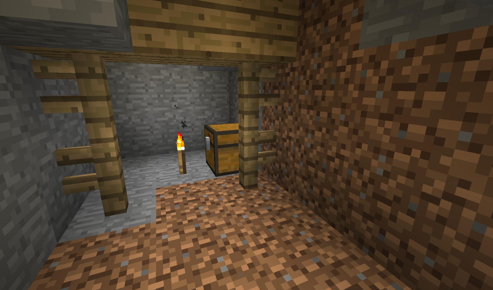 Minecraft - skrzynka w