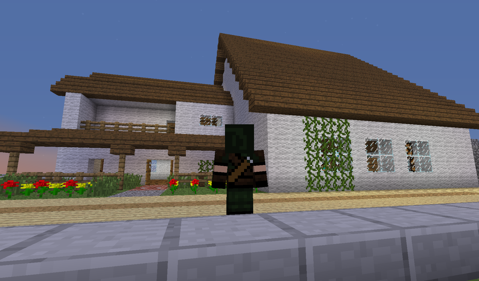 Minecraft - fajny domek