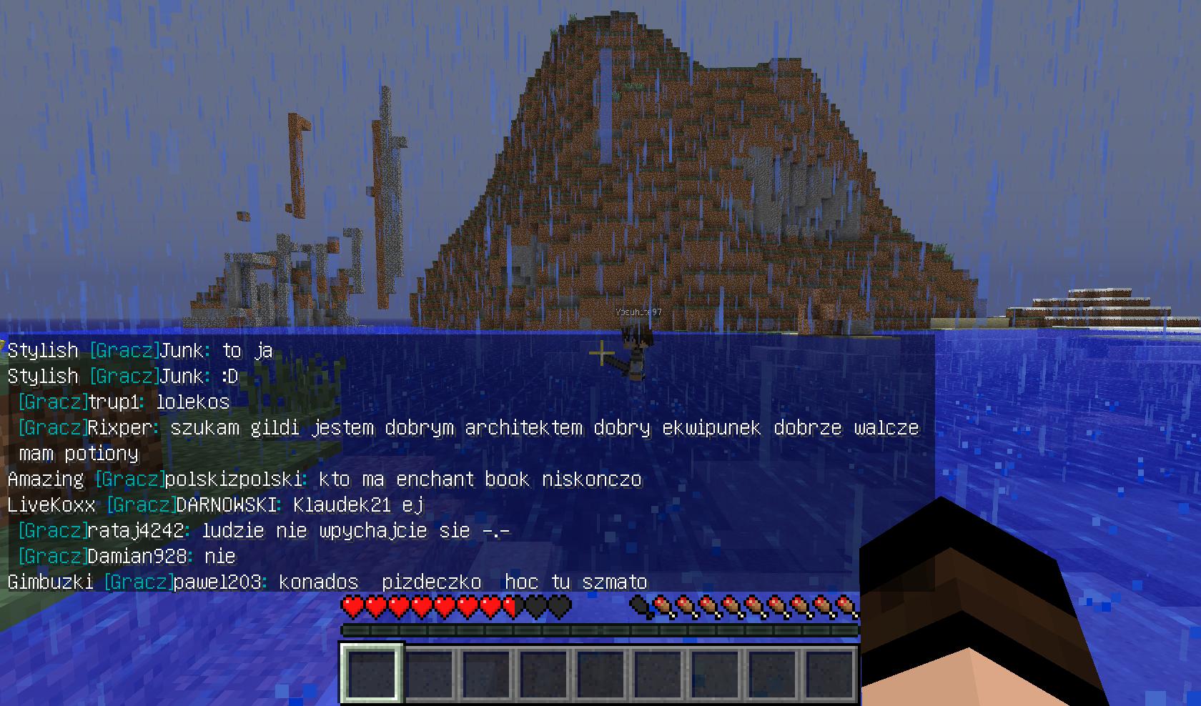 Minecraft - Przestań