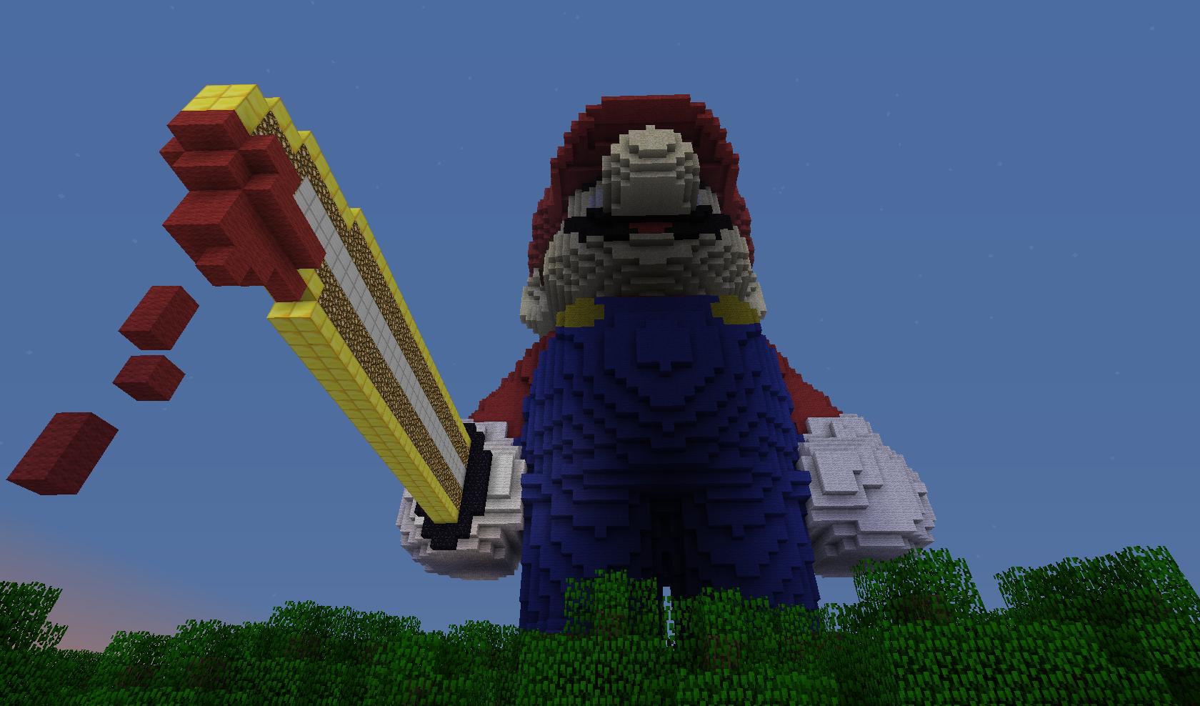 Minecraft - Mario