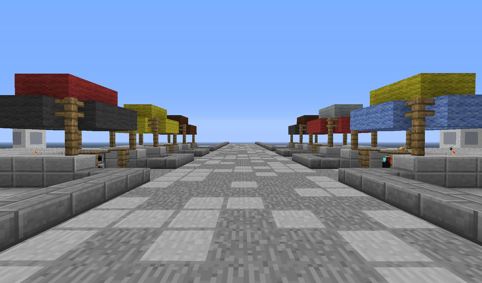 Minecraft - targ