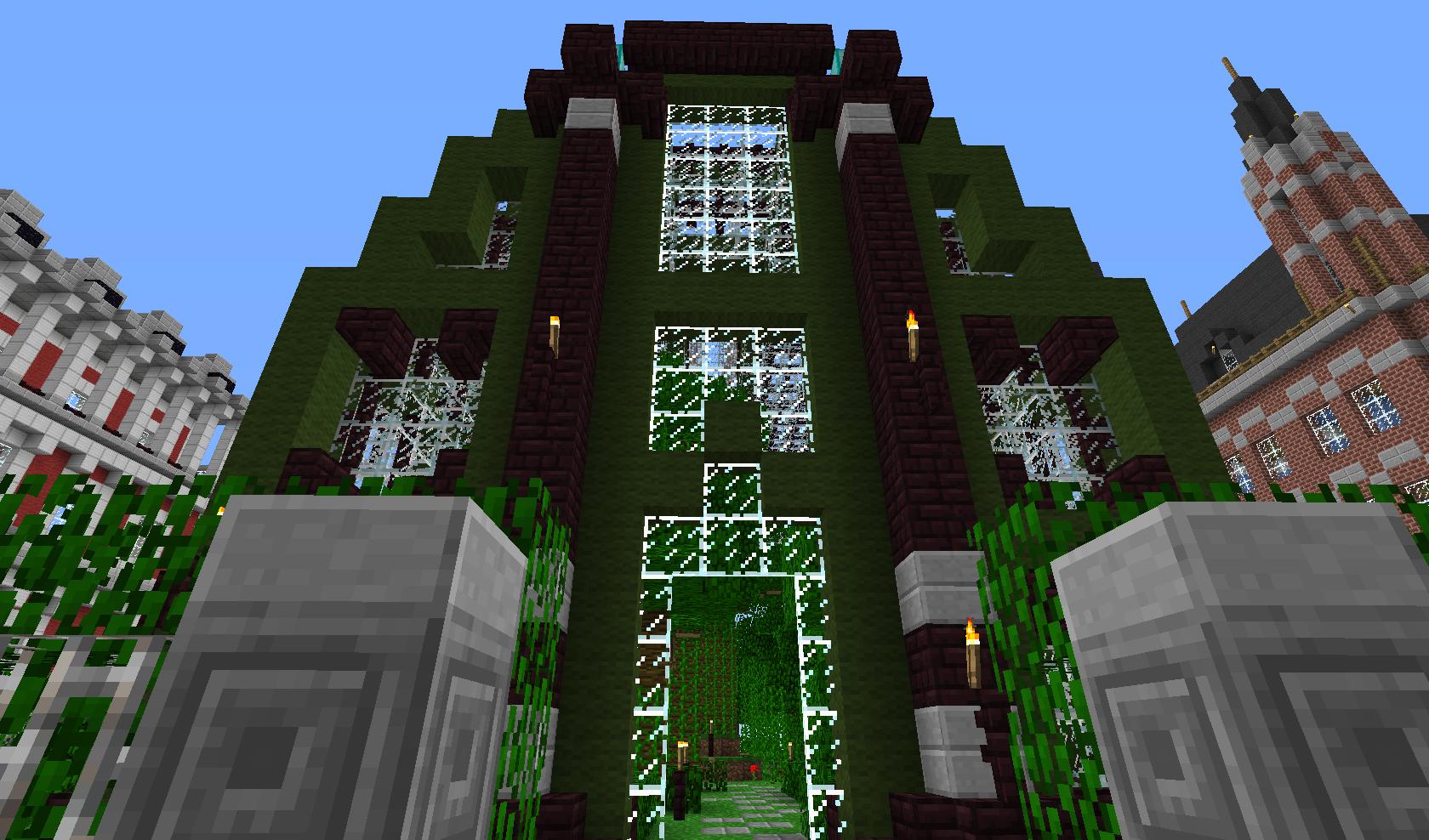 Zarośnięty dom