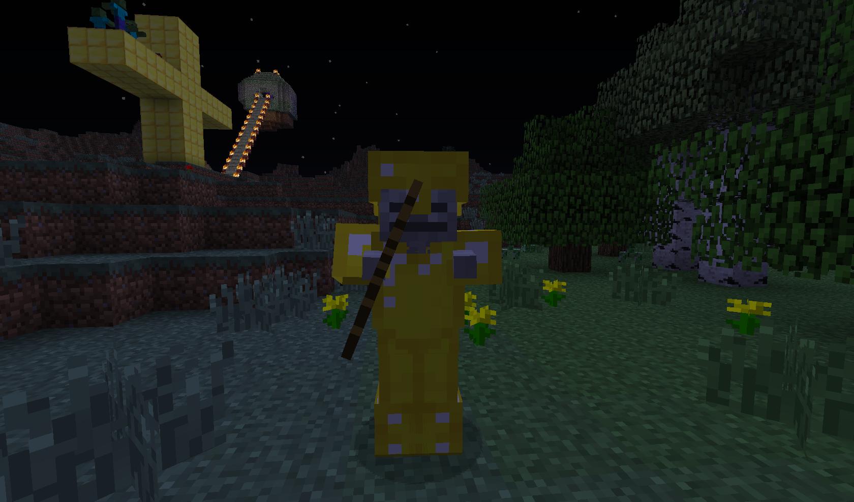minecraft - Złoty