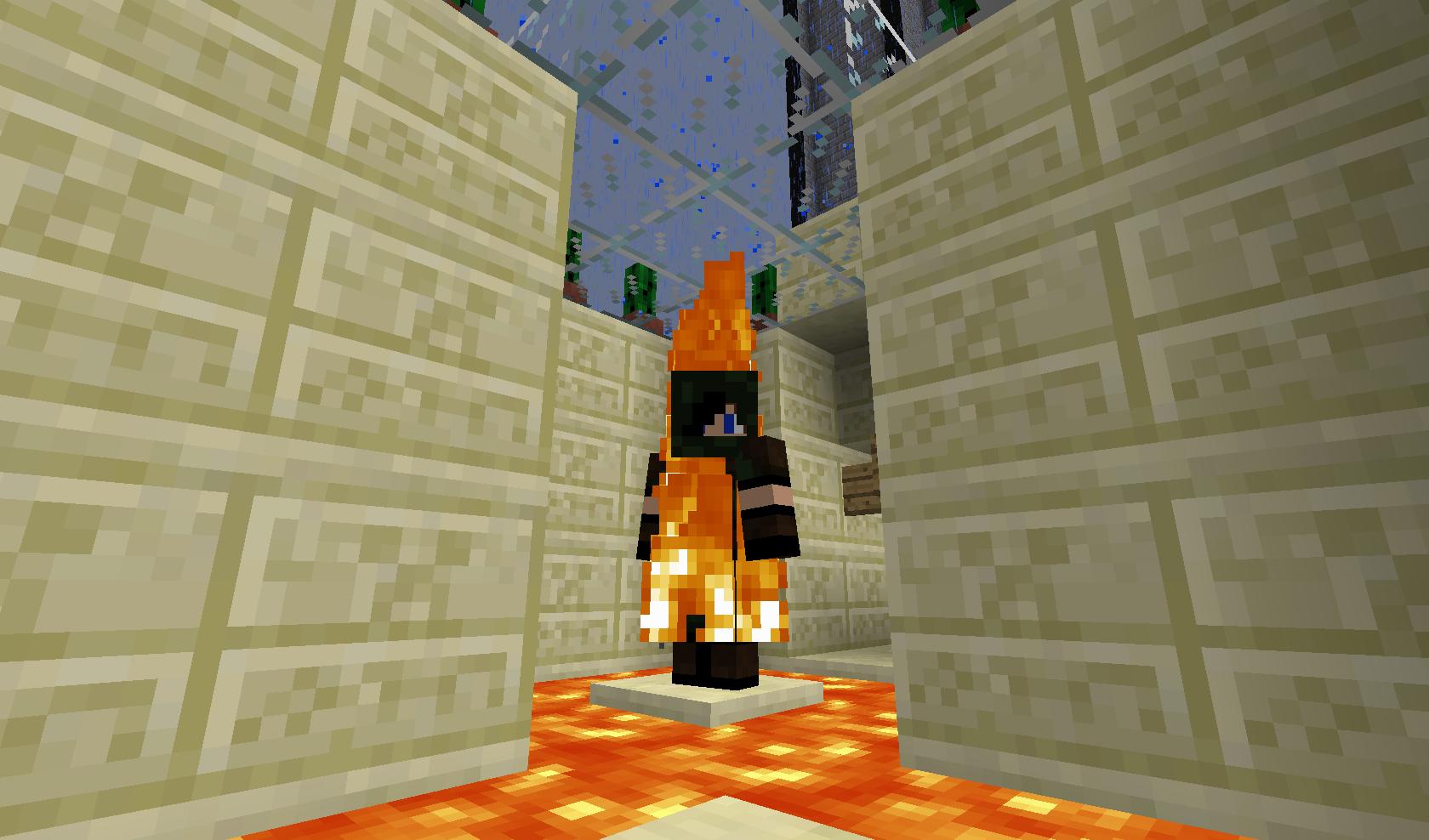 Minecraft - Płonący