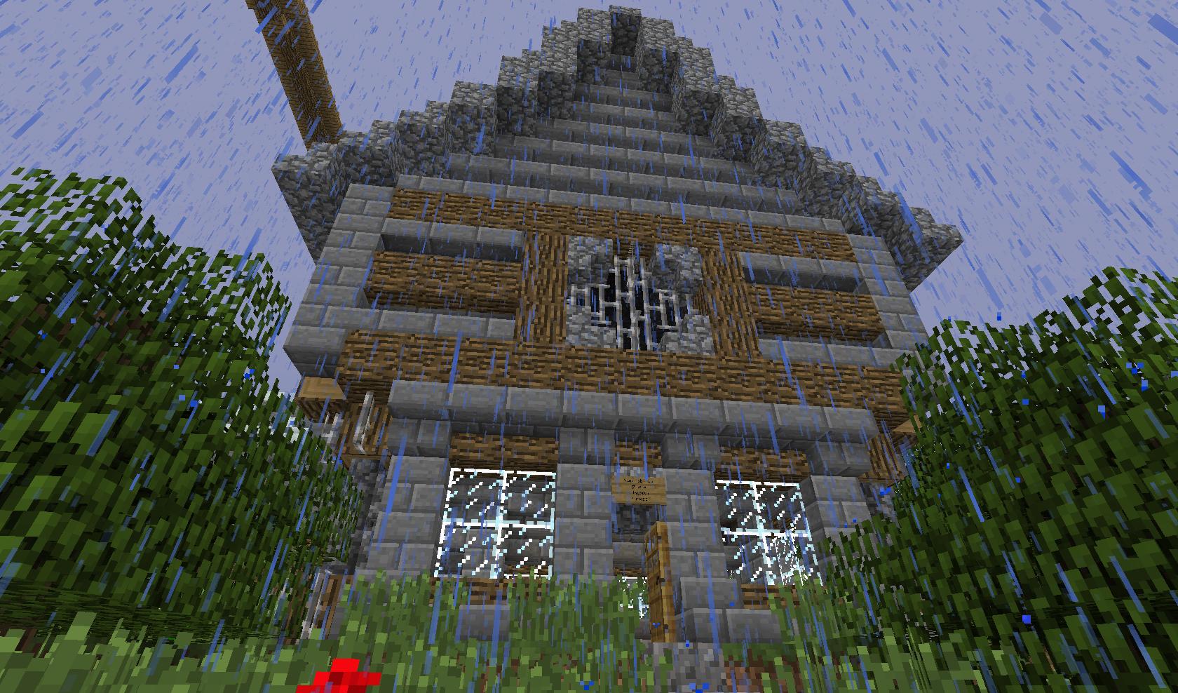 Ciekawy domek