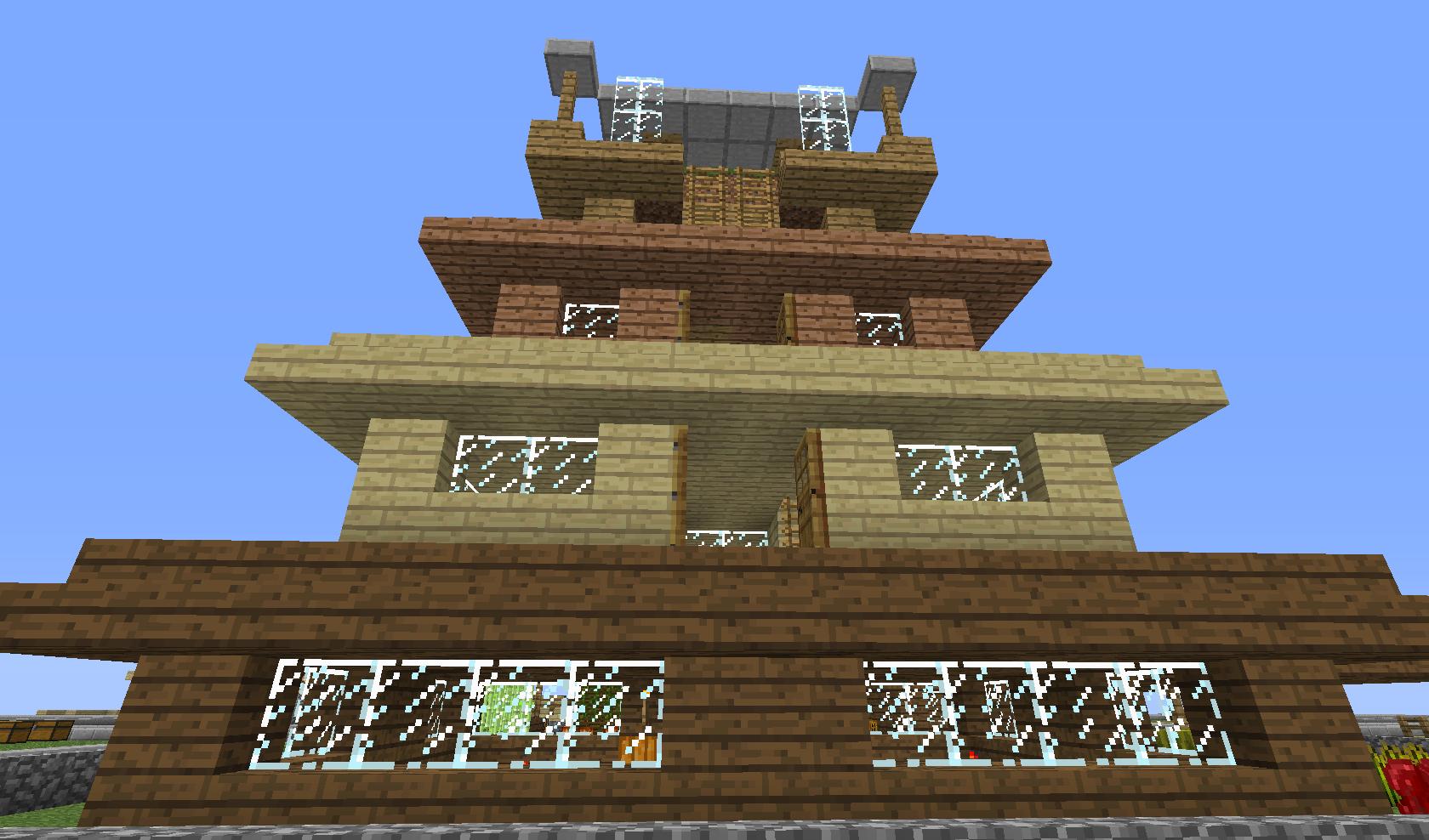 Wielopiętrowy dom
