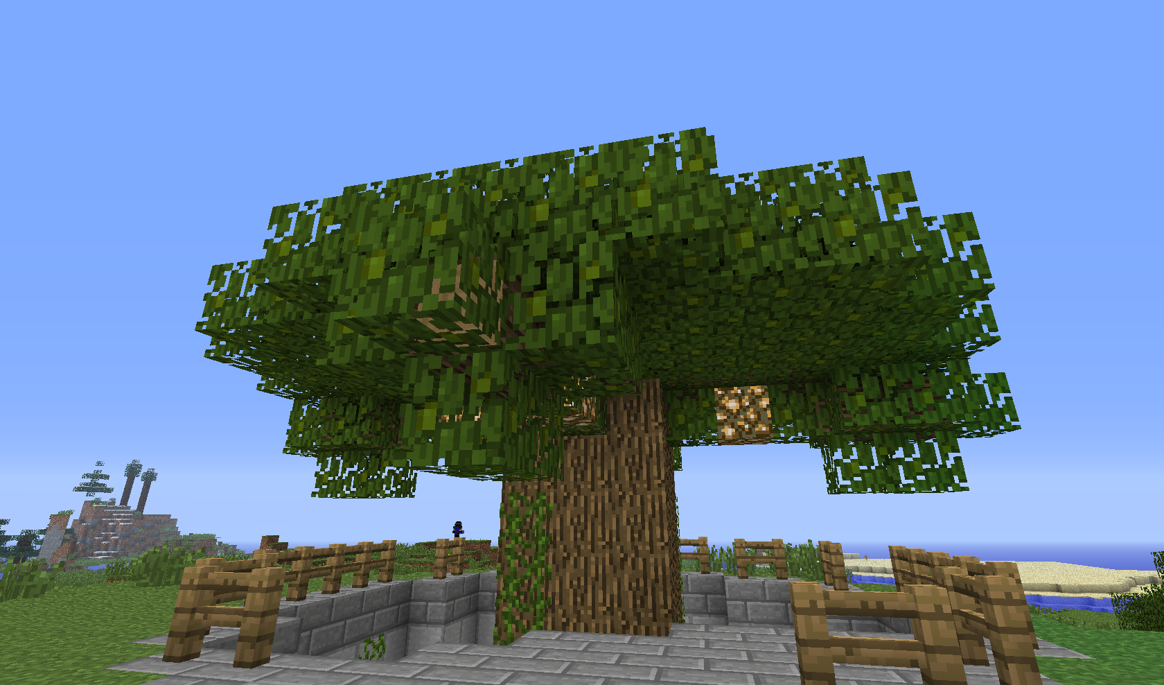 dziwaczne drzewo