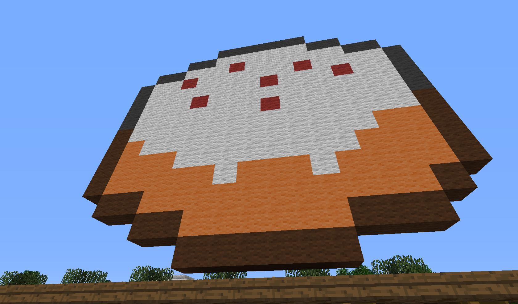 Minecraft - ciasto