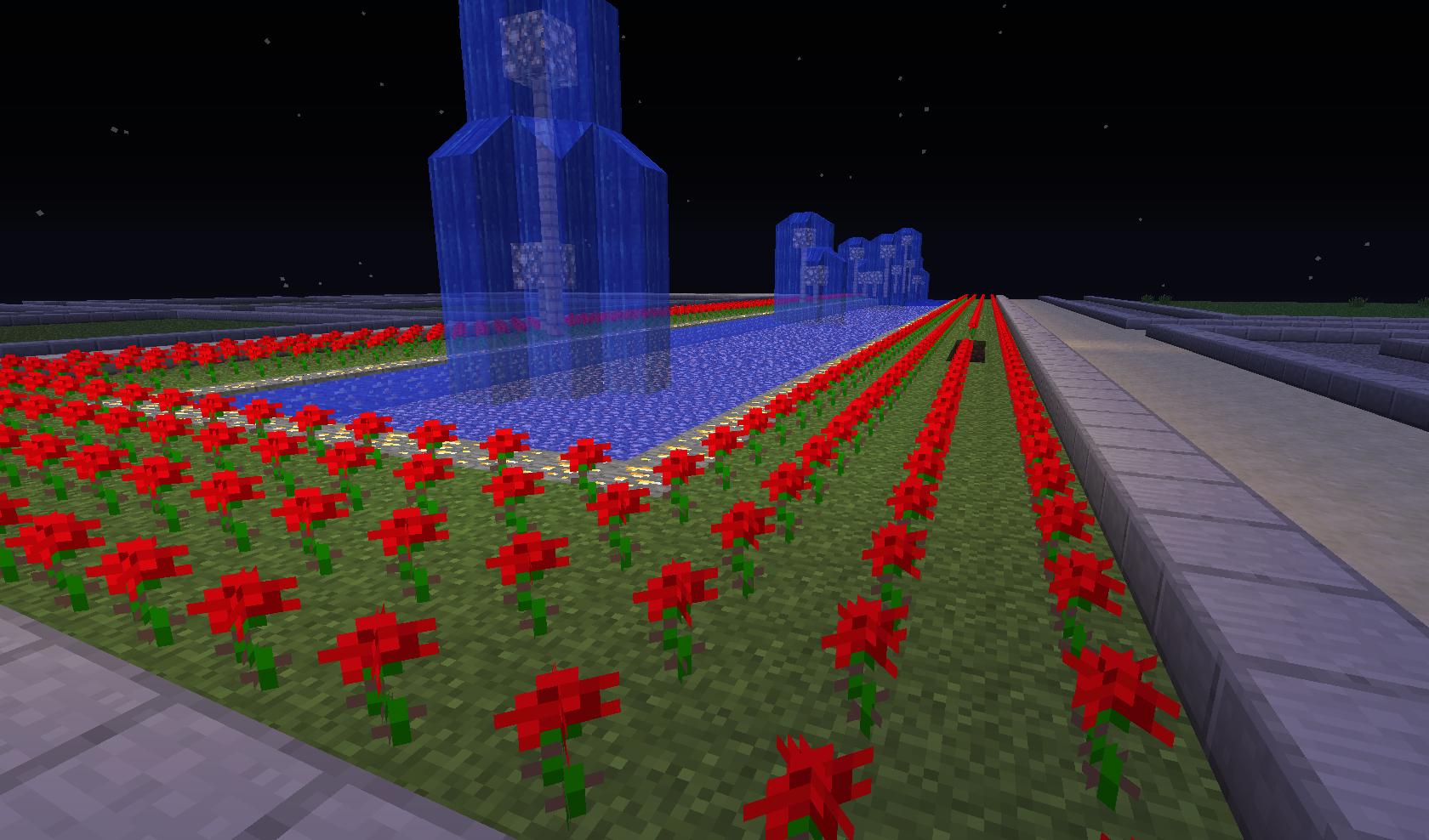 Minecraft - Ogród