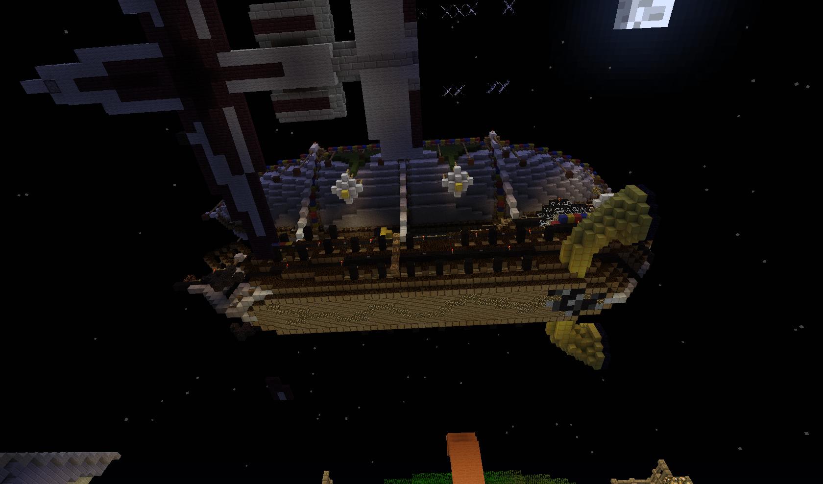 Minecraft - sterowiec