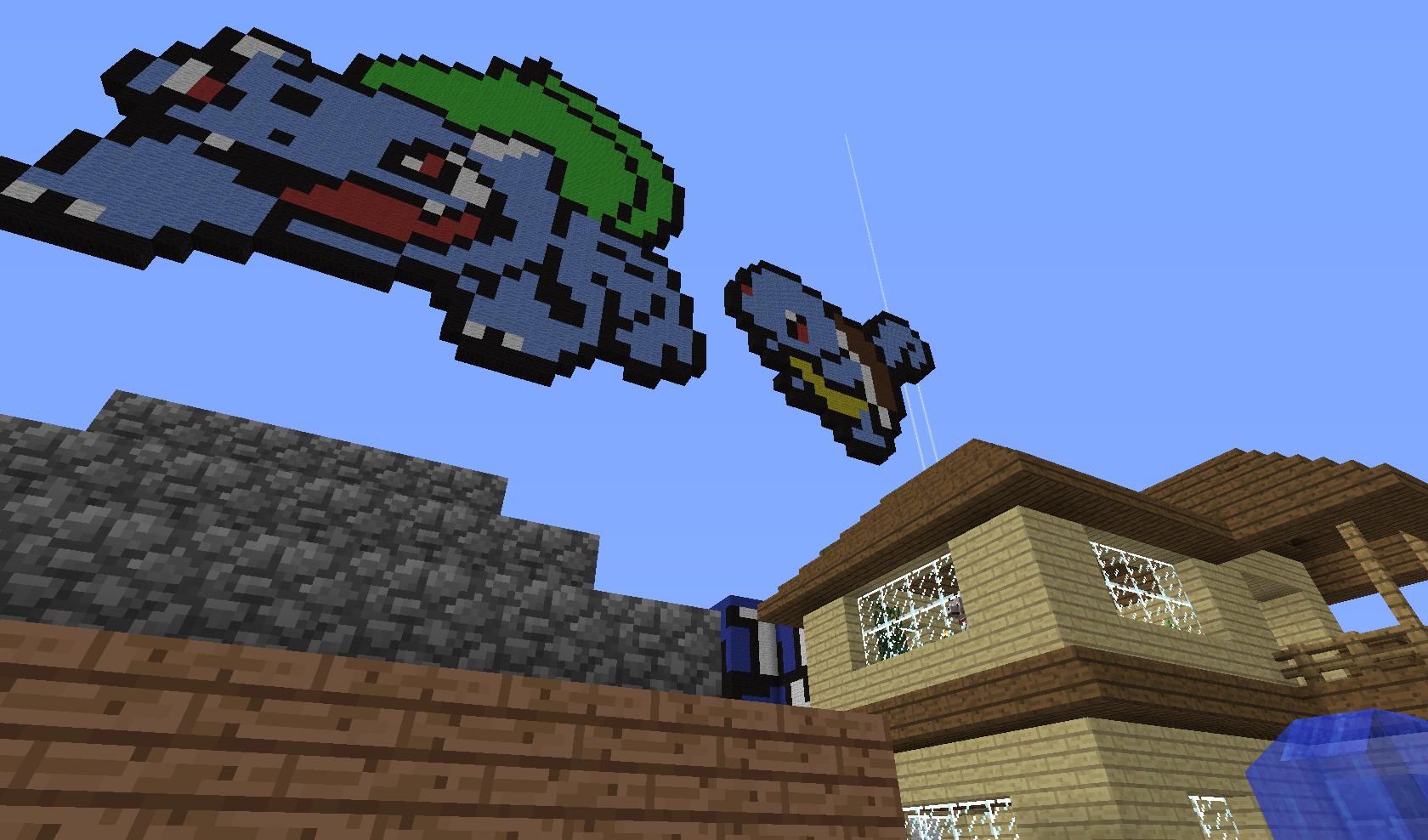 Pokemony 4 Minecraft Obrazek Ocenisz