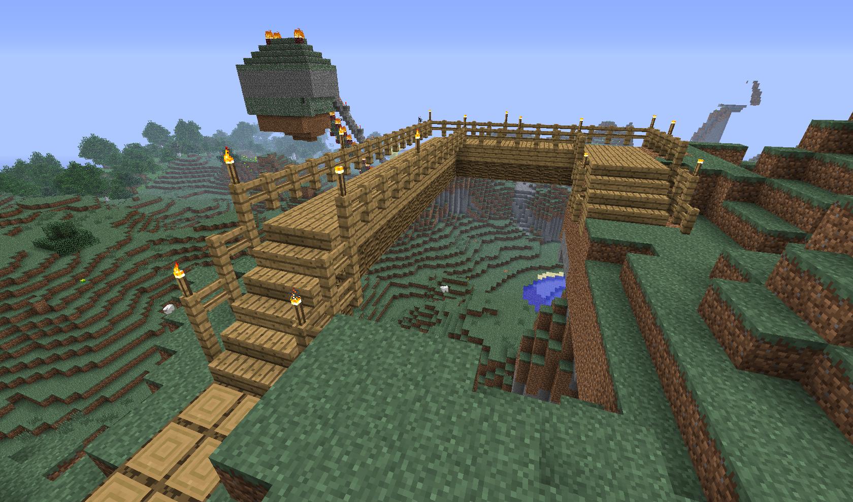 most na drugą stronę