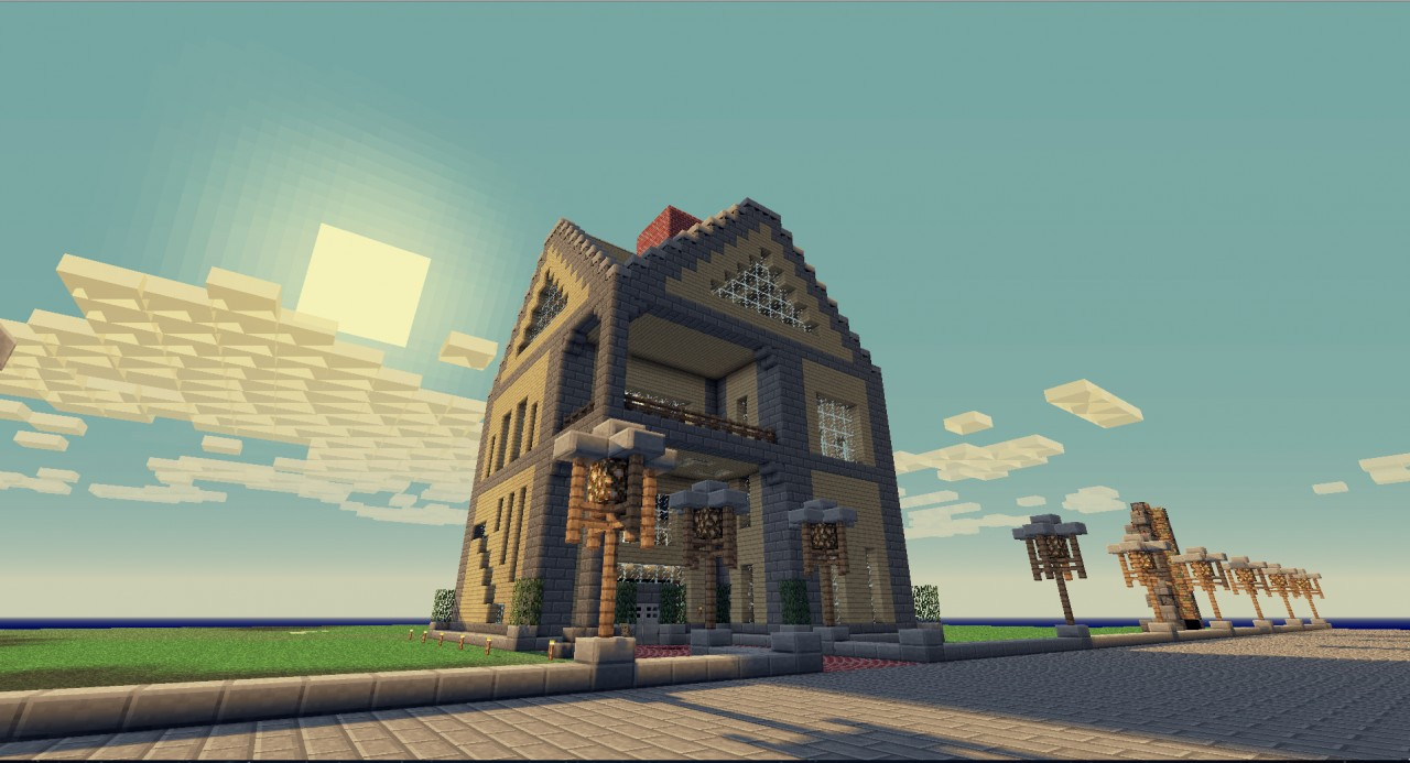 Super dom z pięknym