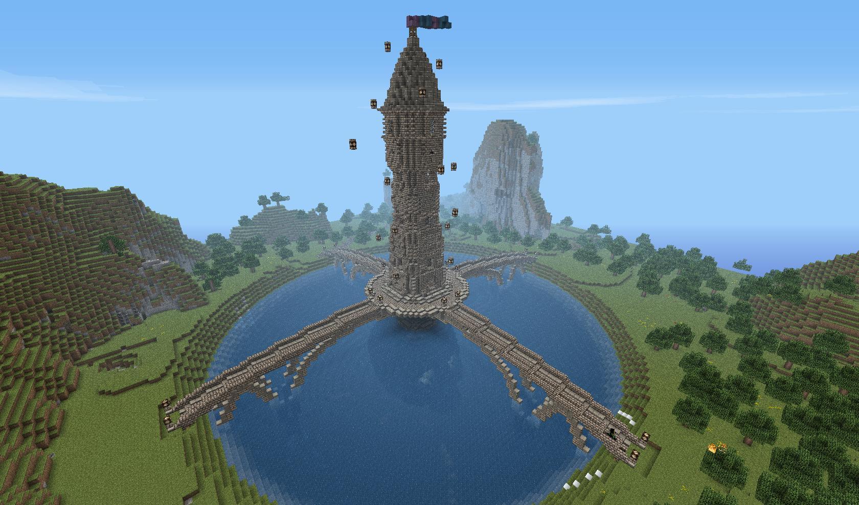 Wieża na małej