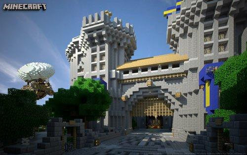 Minecraft - zamek dla