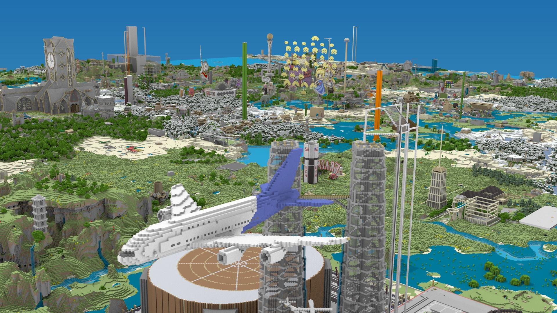 Nowoczesne Miasto w minecraftcie