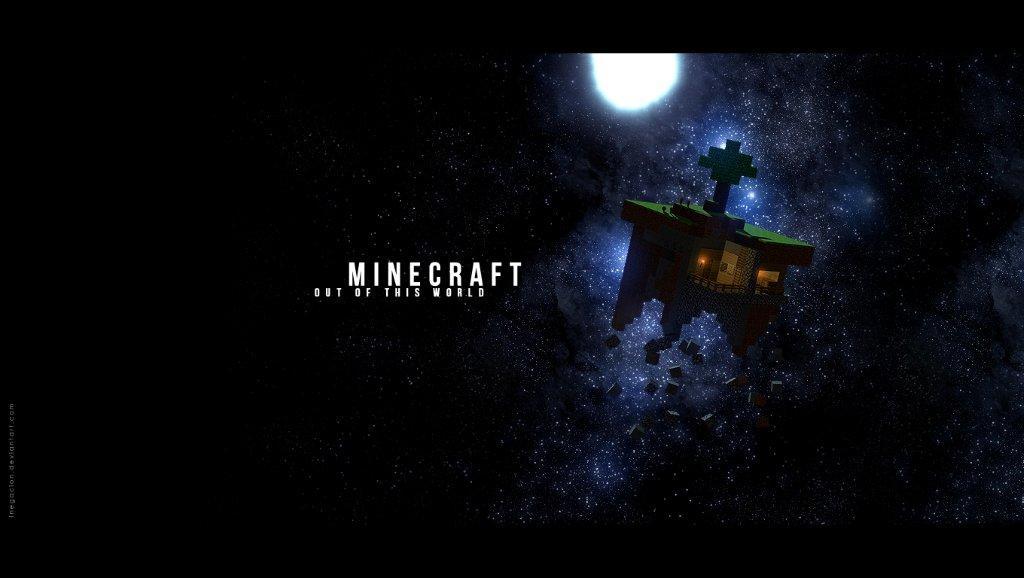 Minecraft planetka