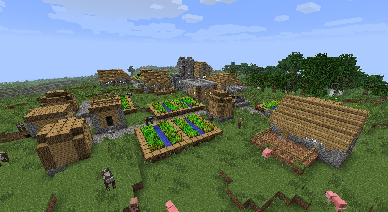 Wioska w minecrafcie
