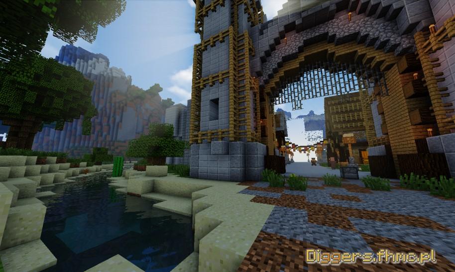 Screen z mapy RPG serwer