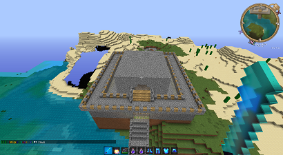 Mój zamek na serwerze