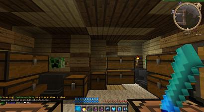 Moj pokój na serwerze ExoGaming.maxc.pl (Minecraft wersja 1.6.4)