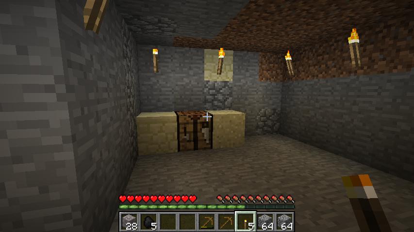 Minecraft, pierwsza